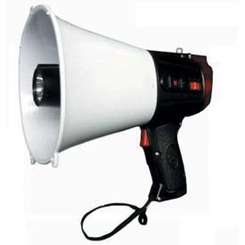 20 Watt Piezo Dynamic Megaphone With LED Emergency Light & Siren