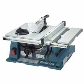 "Makita Contractor Table Saw, 2705, 10"", 15 Amp, Electric Brake"