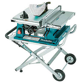 """Makita 2705X1 10"""" Table Saw with Stand by"""