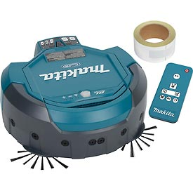 Makita 18V X2 LXT Lithium-Ion Cordless Robotic Vacuum, Tool Only DRC200Z by