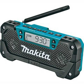 Makita® RM02, 18V LXT® Lithium-Ion Compact Cordless Job Site Radio, Tool Only