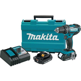 "Makita XFD10R 1/2"" 18V Compact Lithium-Ion Cordless Driver-Drill Kit 480 in. lbs. torque, var. spd.  by"