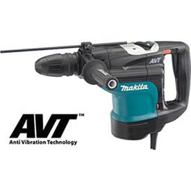 "Makita HR4510C 1-3/4"" AVT Rotary Hammer, SDS-MAX, Anti-Vibration Technology"