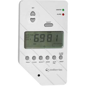 Programmable Talking Thermostat With Telephone And Voice Options