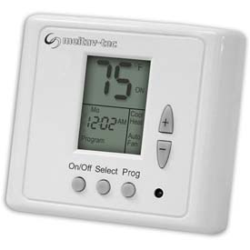 Programmable Thermostat 5-1-1 Wall-Mounted With 3 Fan Speeds and Auto Speed