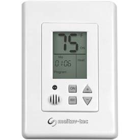 Programmable Thermostat 5-1-1 Flush-Mounted With 2 Fan Speeds and Auto Speed