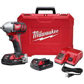 "Milwaukee 2658-22CT M18 3/8"" Impact Wrench W/ Friction Ring Compact Kit by"