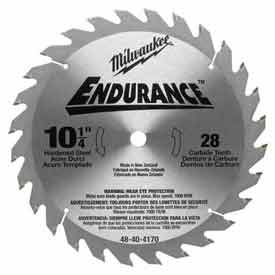 "Milwaukee® 48-40-4168 10"" 80 Carbide Teeth Non-Ferrous Circular Saw Blade"