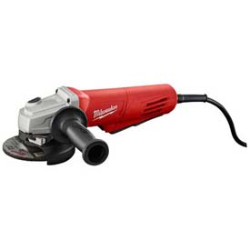 "Milwaukee 6141-31 4-1/2"" Paddle Non-Lock Small Angle Grinder  by"
