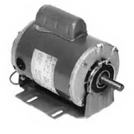 Marathon Motors Fan Blower Motor, B319, 056C17D2074, 3/4HP, 1800RPM, 115/208-230V, 1PH, 56 FR, DP