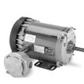 Marathon Motors Explosion Proof Motor, HG456, 5KH35LNB164X, 1/6HP, 115V, 1800RPM, 1PH, EPNV