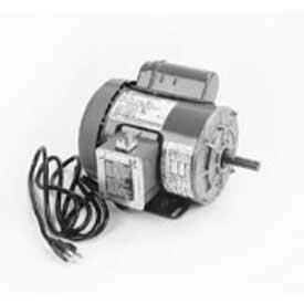 Marathon Motors Woodworking Motor, T010, 56C17F5351,  1/2HP, 115/208-230V, 1800RPM, 1PH, 56 FR, TEFC
