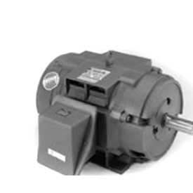 Marathon Motors Premium Efficiency Motor, U758, 1HP, 1800RPM, 208-230/460V, 3PH, 143T FR, DP