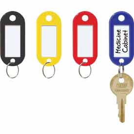 MMF STEELMASTER® ID Key Tags 201400647 - 1 Pack of 20 Tags, Assorted Color