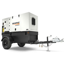 Generac MMG35DF4-STD, 30kW, Tier 4, Towable Diesel Generator, John Deere Engine by