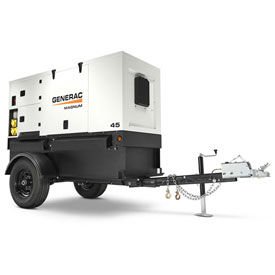 Generac MMG45IF4-STD, 33kW, Tier 4, Towable Diesel Generator, Isuzu Engine by