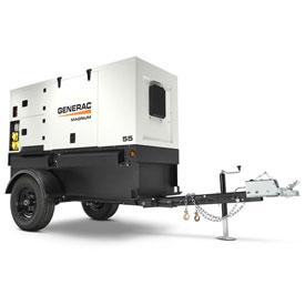 Generac MMG55DF4-STD, 46kW, Tier 4, Towable Diesel Generator, John Deere Engine by