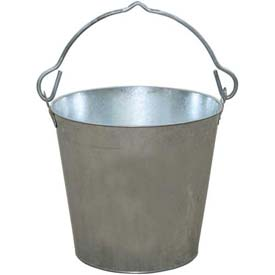 Little Giant Dairy Pail GP12, Galvanized Steel, 12 Qt. by