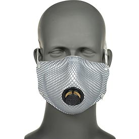 Moldex 2400N95 2400 Series N95 Particulate Respirators Plus Nuisance OV/Ozone Relief, 10/Bag