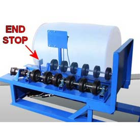 Roll Poly Drum Option POLY-456FI on Morse® 456 - Field Installed with Extra Wheels & End Stop