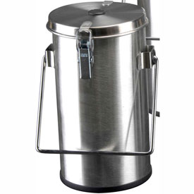Thermo Scientific Thermo-Flask Benchtop Liquid Nitrogen Container with Lid and Handle, 2.01 Liters by