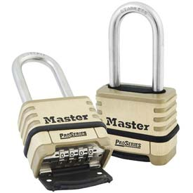 Master Lock® Proseries Bottom Resettable Combination Padlocks - No. 1175lhss - Pkg Qty 24