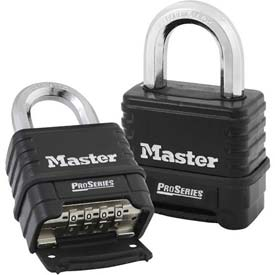 Master Lock® Proseries Bottom Resettable Combination Padlocks - No. 1178 - Pkg Qty 24