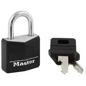 Master Lock® Covered Solid Body Padlock - No. 131t - Pkg Qty 24