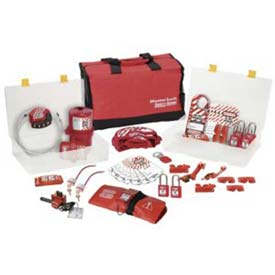 Master Lock® Group Lockout Kit, Valve & Electrical