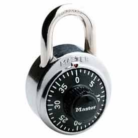 Master Lock® General Security Combo Padlock, Black Dial