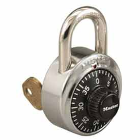 Master Lock® General Security Simple Combination ADA Inspired Padlock, Silver