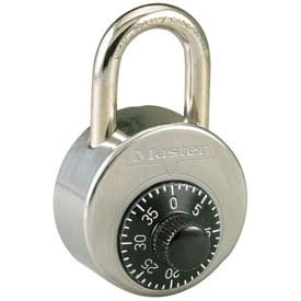 Master Lock® Non-Resettable Combination Padlocks - No. 2001 - Pkg Qty 24