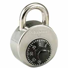 Master Lock® High Security Combo Padlock, Short Shackle