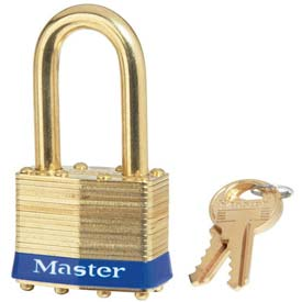 Master Lock® General Security Laminated Padlocks - No. 2kablf - Pkg Qty 24