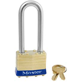 Master Lock® General Security Laminated Padlocks - No. 2kalj - Pkg Qty 24