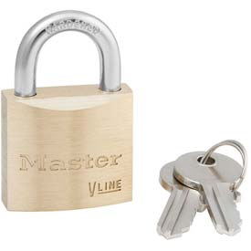 Master Lock® General Security Brass Solid Body Padlocks - No. 4130ka - Pkg Qty 72