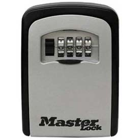 Master Lock® 5401D 4-Digit Locking Combination Wall Mount Keylock Box - Holds 1-5 Keys - Pkg Qty 2