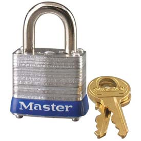 Master Lock® General Security Laminated Padlocks - No. 7 - Pkg Qty 24
