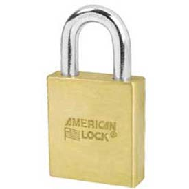 American Lock® Solid Brass Key In Knob Padlock Without Cylinder - No A3700wo - Pkg Qty 24