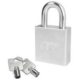 American Lock® Solid Steel Tubular Cylinder Padlock Without Cylinder - No A7260wo - Pkg Qty 24