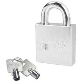 American Lock® Solid Steel Tubular Cylinder Padlock Without Cylinder - No A7300wo - Pkg Qty 24