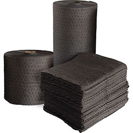"""MBT Gray Dimpled Universal Single Weight Pads 200/Bale 18"""" x 15"""""""