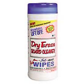 "Lift Off® Dry Erase Board Cleaner Wipes 7"" x 12"", 30 Wipes/Can 6/Case - MOT42703CT"