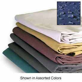 5' X 7' Heavy Duty 10 oz. Water Resistant Canvas Tarp Olive Drab - CTW-10-01-0507-Olive Drab