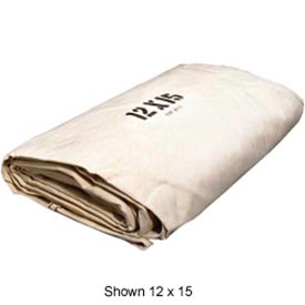 20' X 20' Canvas Drop Cloth - DCC2020