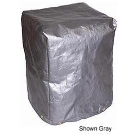 "36""L X 36""W X 36""H, 5-Sided Polyethylene Machine Cover, 7 oz. Black - MCB-P03"
