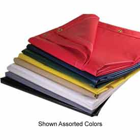 10' X 12' Super Heavy Duty 18 oz. Vinyl Coated Tarp, Red - VTC-18-00-1012