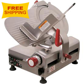 "Axis AX-S12BA Meat Slicer with 12"" Diameter Blade, Automatic Variable Speed by"