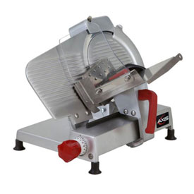 "Axis AX-S10 ULTRA Meat Slicer, 10"" Blade, Manual, Poly V-Belt Drive System by"