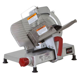 "Axis AX-S9 ULTRA Meat Slicer, 9"" Blade, Manual, Poly V-Belt Drive System by"